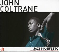 JOHN COLTRANE JAZZ MANIFESTO CD - BLUE TRAIN, LOCOMOTION & MORE