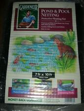 Gardeneer By Dalen Pond and Pool Netting Protective Floating Net 7' X 10'