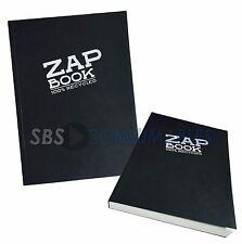 Clairefontaine Zap libro A5 Sketch Book 100% Reciclado 160 Hojas Cubierta Negra 3364