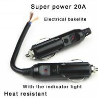 DC 12V Car Boat Motorcycle Cigarette Lighter Socket Outlet Power Plug Waterproof