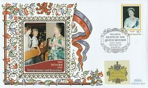 MALDIVES 2012 QUEEN MOTHER 10th ANNIVERSARY OF HER DEATH BENHAM COVER RED CROSS