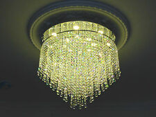 Crystal Chandelier Dimmable warm white LED Ceiling light Lamp It-PL-60LED/Ball