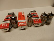 Four Nice Preamp Tubes 5814A 12At7 6021 (2) Amplitrex Tested Kcx