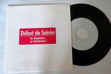 """Début de Soirée """"de revolutions"""" rare EP Promo-test pressing MINT/ MINTunplayed"""