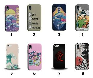 Anime Phone Case Cover Japan Japanese Themed Oriental Cartoon Chinese Words 8002