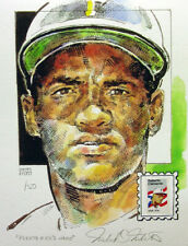 Roberto Clemente Pittsburgh Pirates Print USPS Puerto Rico Stamp By Mellett