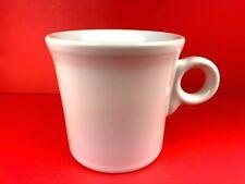 Vintage USA Fiesta Ware Tom & Jerry Light Pink Ring Handle Coffee Cup Mug