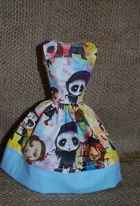 OOAK Pastel Horror Dress for Vintage, Mod & Reproduction Barbie, Midge