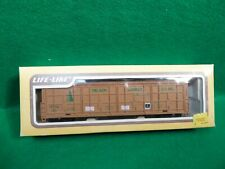 LIFE-LIKE HO SCALE DELSON LUMBER CO. THRALL DOOR CAR #HTCX329