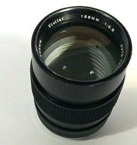 Vivitar Auto Telephoto 135mm f/2.5 Prime Camera Lens Fits Pentax K Mount