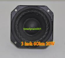 """2pcs For SONY 3"""" inch 6Ohm 6Ω 20W Neodymium magnet Speaker Loudspeaker"""