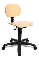 Drehstuhl Arbeitsstuhl Werkstattstuhl Produktion Topstar Tec 10 Holz  B-Ware