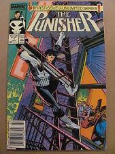 Punisher #1 #2 #3 #4 #5 #6 #7 Marvel Comics 1987 Series Newsstand