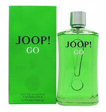 JOOP! GO EAU DE TOILETTE EDT 200ML SPRAY - MEN'S FOR HIM. NEW. FREE SHIPPING