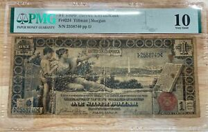 US 1$ Silver Certificate, 1896 Fr#224 PMG 10 (Very Good)