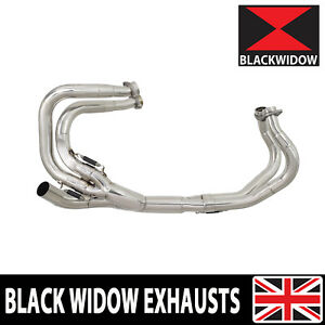 VFR 800 Exhaust Collector Front Down Pipes Manifold Headers NEW 1997-2003 RC46
