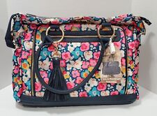 Itzy Ritzy - Diaper Bag Tote – Large Capacity Tribe Tote Diaper Bag, Posy Pop