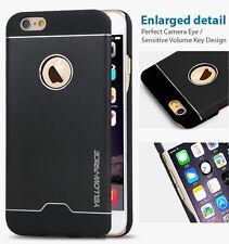 iPhone 6 Case, [Brushed Aluminum]  [Aluminum Fit] Metal Anodized Aluminum Case