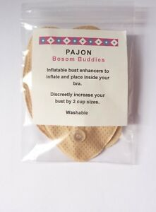 Bosom Buddies Inflatable Bra  Pads  Increase Bust To 2 Cup Sizes Fit Inside Bra