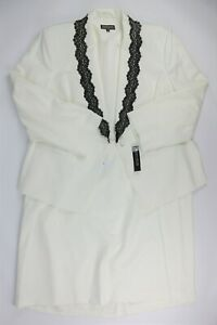 NWT $280 John Meyer Collection Womens Size 22W Jacket 2-Piece Skirt Suit