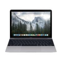"Apple Macbook Core M7 1.3GHz 8GB RAM 512GB SSD 12"" Space Gray MLH82LL/A (2016)"