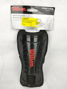 """Wilson Peewee Shin Guards WSP2000 Lightweight For Players Up To 4'1"""""""