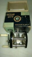 Ocean City Bait Casting Reel and Original Box; Older Than Vintage, Collectible