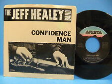 The Jeff Healey Band Confidence Man / That's What They Say 1988 PS Arista 9790