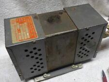 Vintage Sola Large Constant Voltage Transformer Made Used