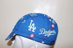 CYCLING CAP MLB LA DODGERS HANDMADE IN USA   S M L