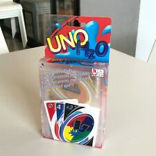 Card game Uno H2O Waterproof clear cards NEW