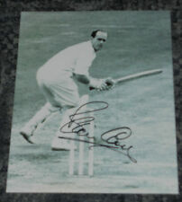 BRIAN CLOSE- CRICKETER    -10x8  PHOTO SIGNED - (32)