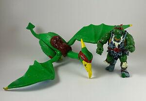 Cave Turtle Raph & Pterodactyl TMNT Figures teenage mutant ninja dino raphael