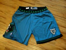KEVIN GARNETT GAME WORN USED 2001-02 MINNESOTA TIMBERWOLVES CUSTOM SHORTS HOF