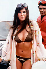 Caroline Munro huge cleavage bikini on boat Spy Who Loved Me 11x17 Mini Poster