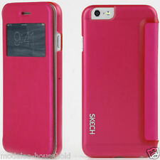 NEW GENUINE SKECH IPHONE 6 / 6S  4.7in  SLIM VIEW, HARD SHELL, FRONT FLAP CASE,