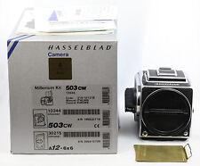 * selten * Hasselblad 503cw Millenium Boxed + Acute Matte D 503 CW + a12 letzter Typ