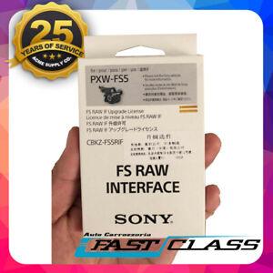 Genuine Sony CBKZ-FS5RIF RAW Interface Upgrade Software Key For PXW FS5