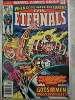 MARVEL THE ETERNALS #6 BOARDED AND SLEEVED PRIVATE COLLECTION