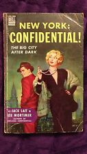New York: Confidential by Jack Lait and Lee Mortimer 1948 SC Edition Dell #440