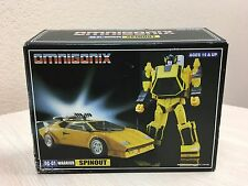 Third 3rd Party Transformers Omnigonix 0G-01 Warrior Spinout Autobot Decepticon