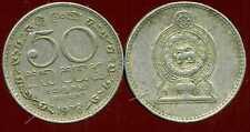 SRI LANKA  50 cents 1978  ( bis )