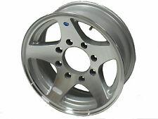 "16"" 8 Lug Series 04 Hi Spec Heavy Duty Aluminum Trailer Wheel"