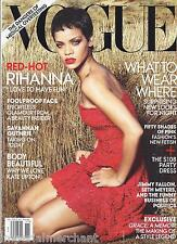 Vogue magazine Rihanna Savannah Guthrie Party dresses Foolproof face Kate Upton