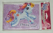 ~~MY LITTLE PONY   ~~8-THANK YOU NOTES WITH ENVELOPES PARTY SUPPLIES