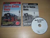 BERLIN STETTIN ROUTE Pc Add-On Expansion Microsoft Train Simulator Sim MSTS