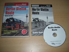 BERLIN STETTIN ROUTE Pc Cd ADD-ON Expansion Microsoft Train Simulator Sim MSTS