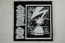 Bad Brains Punk Rock Dead Kennedys Adicts Black Flag Ramones Cloth Patch (CP40)