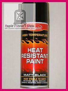 Matt Black High Temperature Resistant Stove Spray Paint