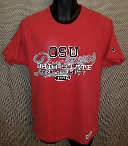 Ohio State Buckeyes Scarlet Champion T-Shirt - Mens Small